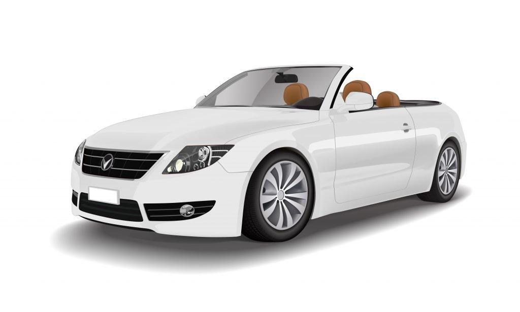 open roof car